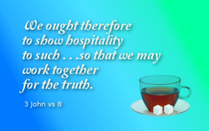 Hospitality - a gift to give fellow believers